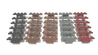 Lego 1x Stairs Straight Open 7x4x6 Escalier 30134 Black//Noir//Schwarz