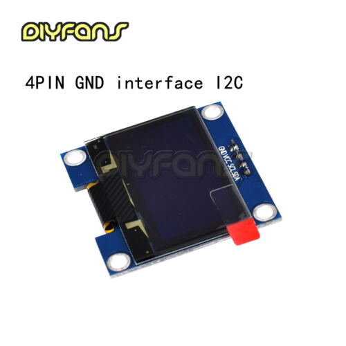 """1.3/""""Blue//White OLED LCD Anzeige Modul  GND//VVC Interface I2C//SPI 128x64 Arduino"""