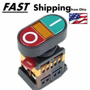 Industrial Motor Control Start Stop Jog Push Button