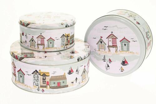 Cooksmart Beside the Round Cake storage Tin Just In Range Set Of 3 Cake Tins