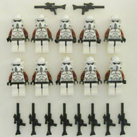 10 Lego Star Wars Arf Trooper Minifig Lot Elite Clone 9488 Minifigure Figure