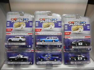 POLICE-S30-CHEVROLET-FORD-CROWN-DODGE-MONACO-RAM-GREENLIGHT-HOT-PURSUIT-1-64
