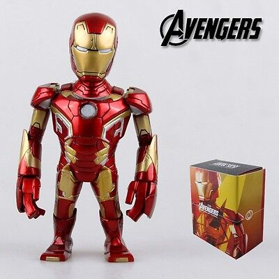 "Super Hero The Avengers IRONMAN Iron Man 12cm / 4.8"" PVC Figure New In Box #05"