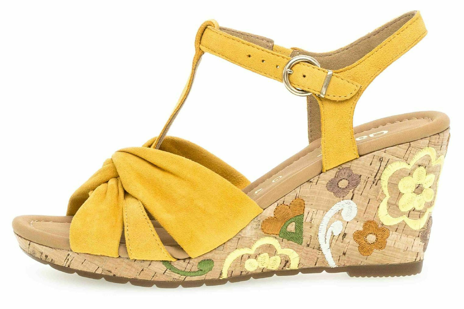Gabor Comfort Sport sandalias en pijama rojo 22.828.22 grandes zapatos señora