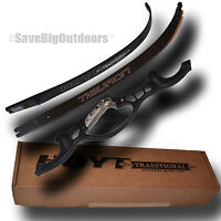 Rh Hoyt Archery Black Tiburon Recurve Bow Blackout 62 50lb - Free Ship