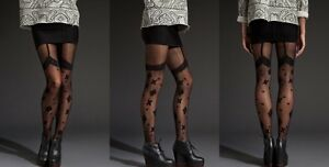 RARE-House-of-Holland-Bandana-Tights-As-worn-by-everyone-at-Glastonbury