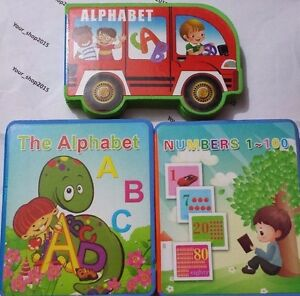 Soft abc alphabet, animal chiffres photos early learning educational kids books 							 							</span>