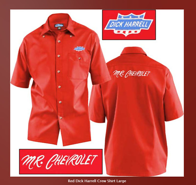 "Chevrolet/"" Men/'s Shirts Dick Harrell® /""Mr OFFICIALLY LICENSED /& APPROVED"