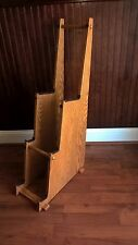 Three Tiered Guitar Stand, Solid Red Oak Wood, Electric, Acoustic or Mix.