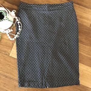 PORTMANS-STATUS-Straight-Stretch-Skirt-Size-14-Back-Zip-Pencil-Skirt-Never-Worn