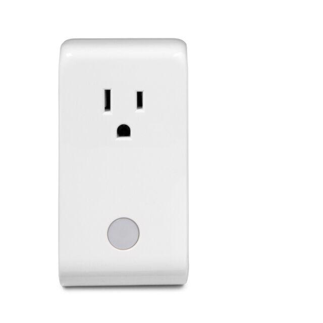Iris 110-Volt White Smart Plug