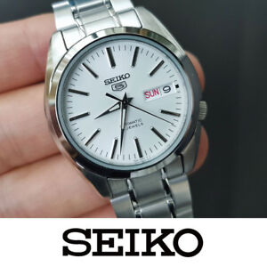 timeless design 97189 dcdd1 Details about SEIKO 5 SNKL41K1 Automatic Men's Watch Stainless Steel 37mm