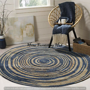 Indian Handcrafted Natural Jute Carpet