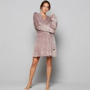 9f1c5dd7d BNWT B by Ted Baker Fawn Embossed Bow Short Dressing Gown 16-18 NEW ...
