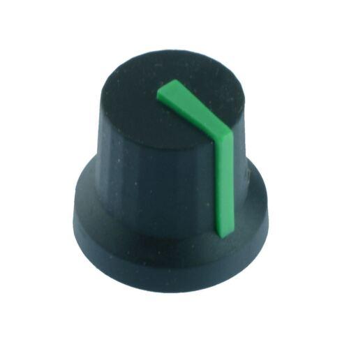 10 X CL17084 Verde 6mm Control Perilla Cliff