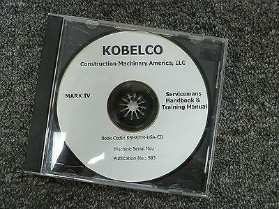 kobelco sk300 sk300lc mark iv hydraulic excavator shop service rh ebay com Compact Excavator Kobelco Kobelco SK300 Thumb