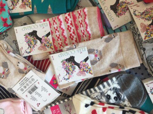 di donne donna calzini paia taglia Vbghnj di Uk design di 4 colorati 150 cotone 6 da lusso di xgpfPnn1