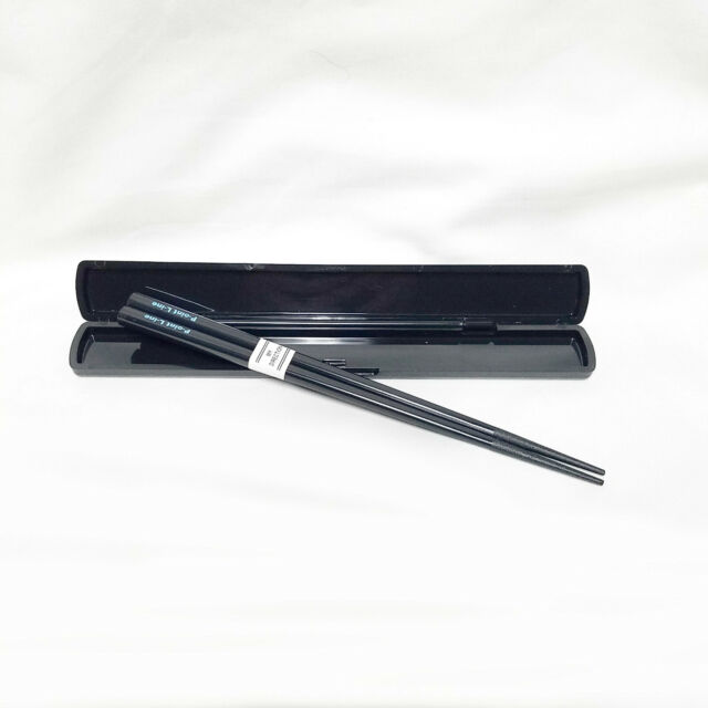 Daiso Japan Japanese Portable 7.7 in Chopsticks with Case - Bento Lunch Camping