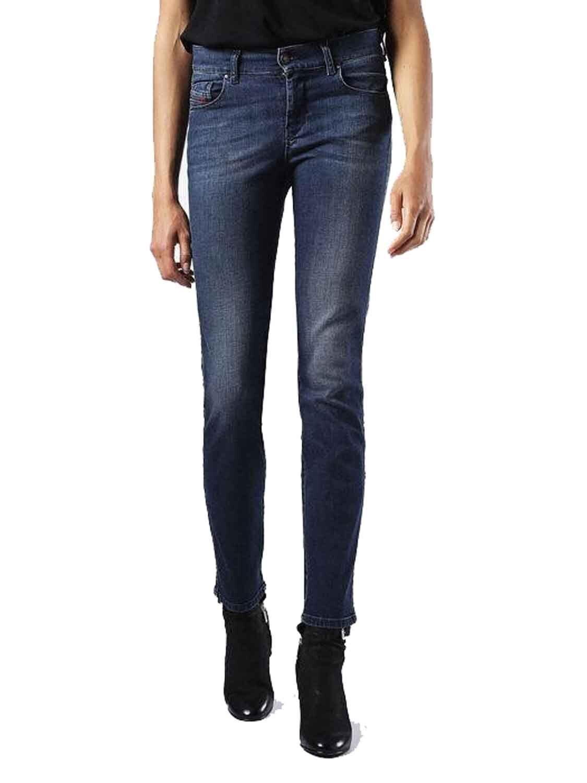 DIESEL Sandy 0854e Stretch Donna Jeans Pantaloni Pantaloni Pantaloni Slim Straight 2ac65e