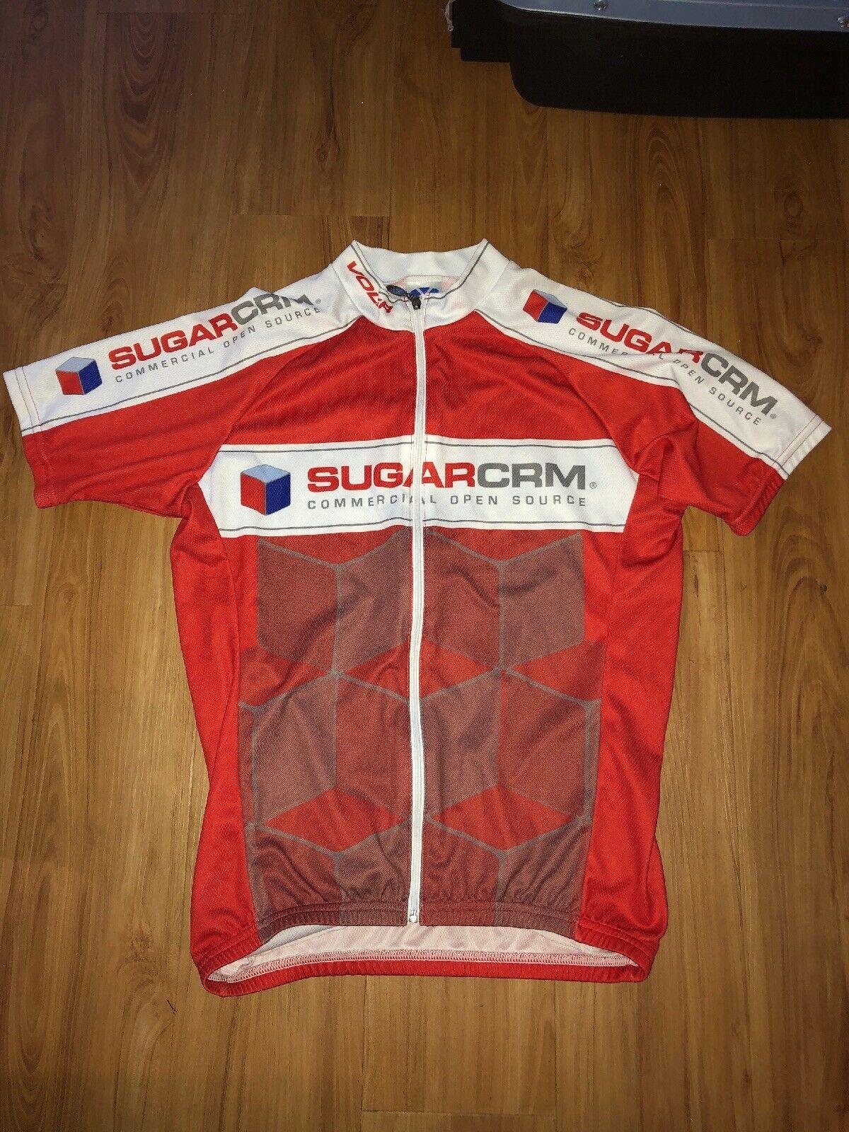 Voler Cycling Jersey Mens Medium Club Raglan Sugar CRM