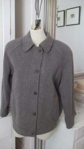 12 Highland New Grey 10 Blouson Size Games Jacket Harris Small Tweed Style Fits nFq1vPw