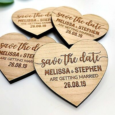 Personalised Wooden Fridge Magnets
