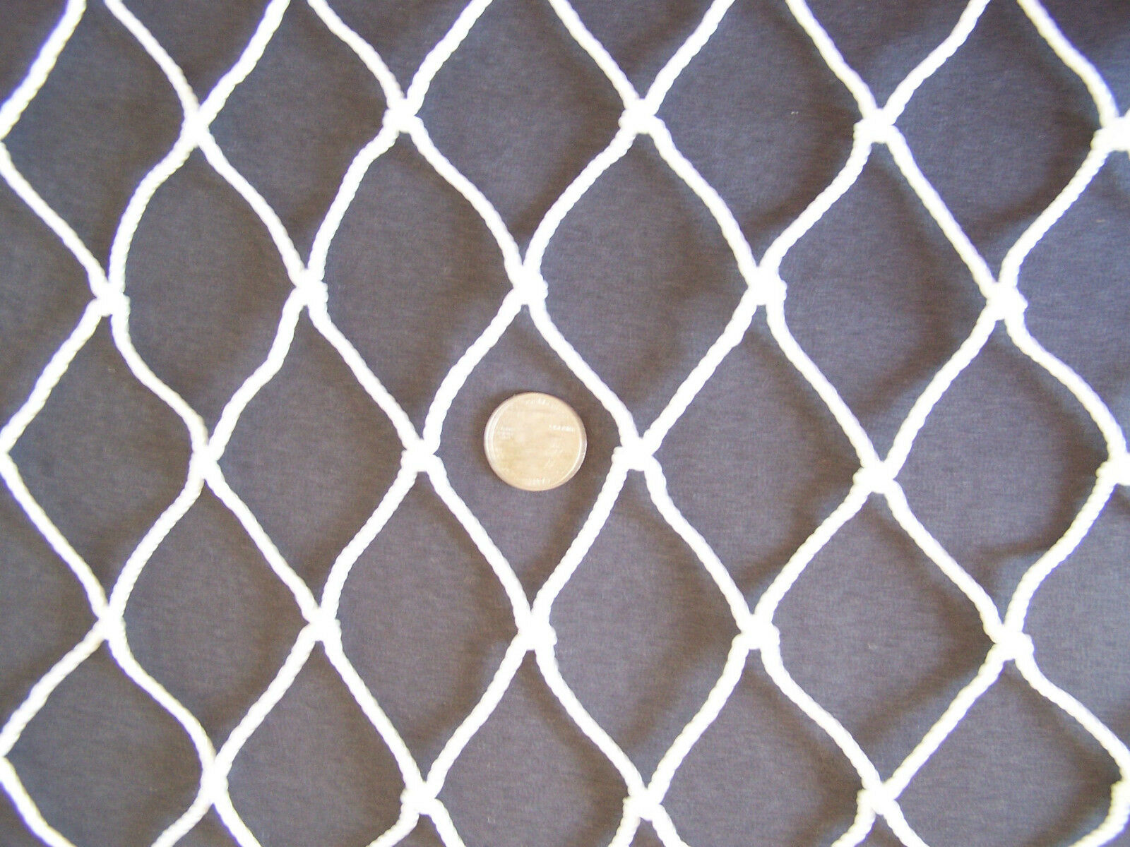 25' X 10'   CLOSE IMPACT NYLON BASEBALL NET 2   HORSE HAY ROUND BALE NETTING