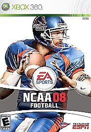 NCAA Football 08 Microsoft Xbox 360, 2007  - $7.20