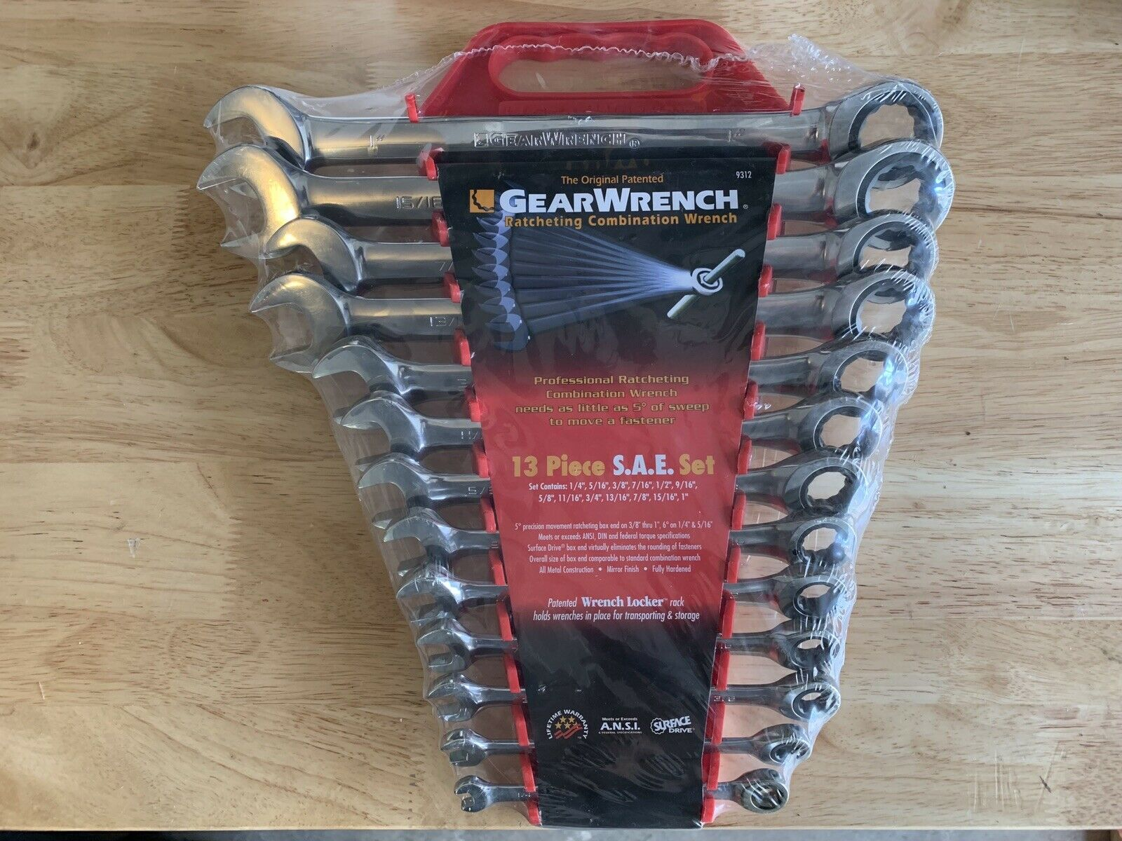 Gearwrench 13 Piece SAE Set