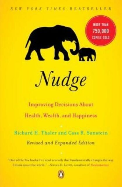 (Very Good)-Nudge (Paperback)-Thaler, Richard H.-014311526X
