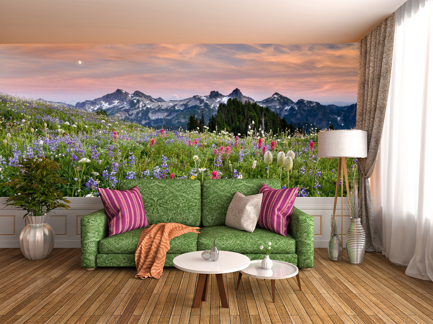 3D lila Lavender 928 Wall Paper Wall Print Decal Wall Deco Indoor Wall