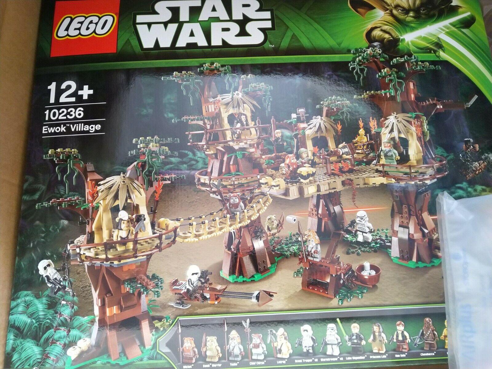 LEGO 10236 STAR WARS UCS VILLAGGIO EWOK-Nuovo Di Zecca Sigillato