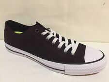 318dc2e542708f CONVERSE CONS CT LO TOP PRO OX BLACK CHERRY SUEDE SNEAKER SHOES MENS 9  WOMENS 11