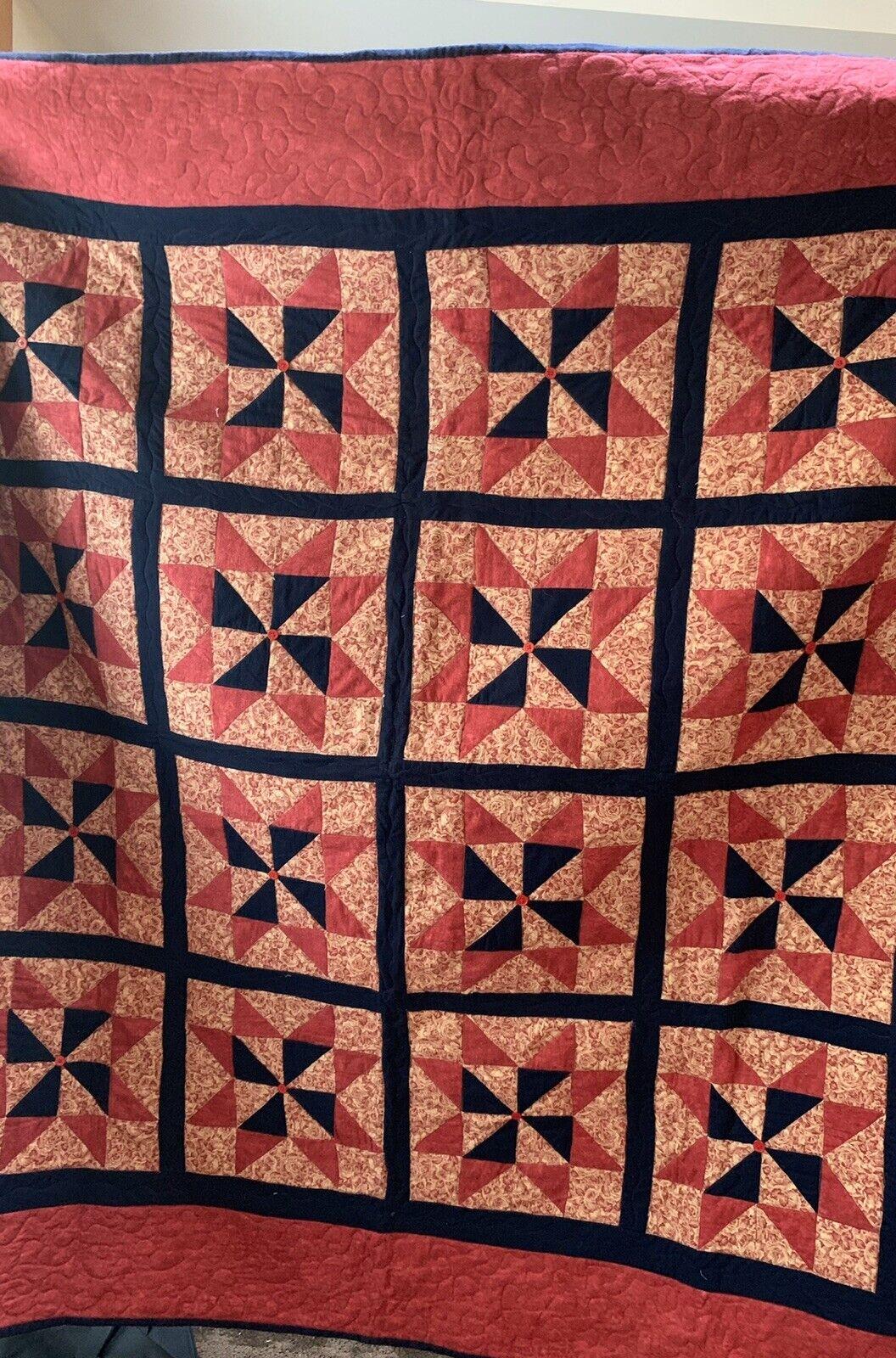 Pinwheel Star Quilt thumbnail