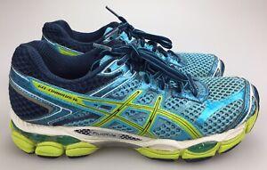 Details about Asics Gel Cumulus 16 Sz 8 EU 39.5 Blue Athletic Running Training Womens scarpa