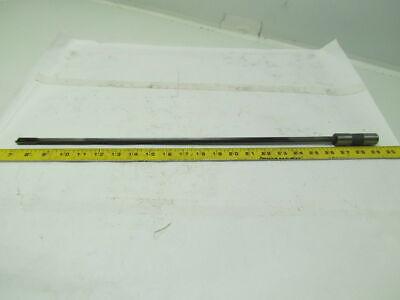 """Starcut S525746-1 .500x16.75/"""" OAL 1 Flute Coolant Fed Carbide Tip Gun Drill"""