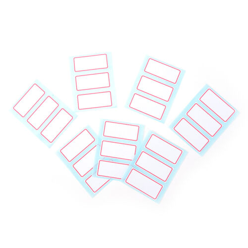 12sheet self adhesive label Blank labels Bar sticky writables name sticker CYBB