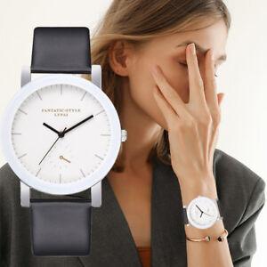 Lvpai-Frauen-Fashion-Casual-Quarz-Armbanduhr-Leder-Band-watch-analog-Armbanduhr