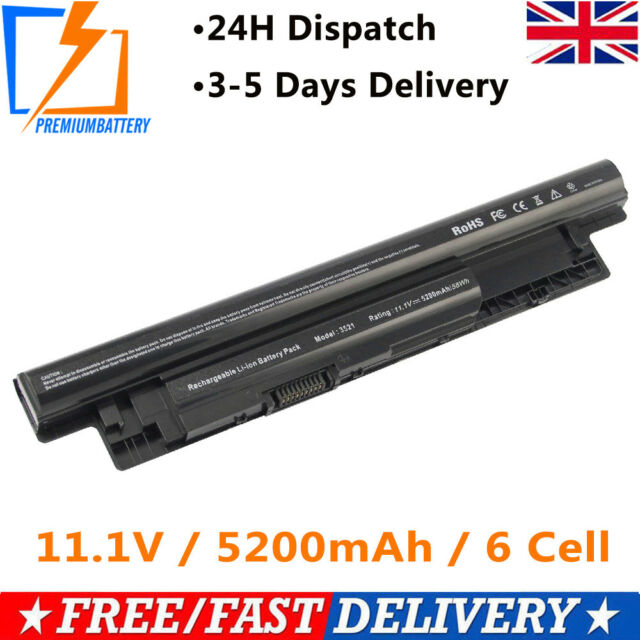 New 56Wh For Dell Inspiron 15 3521 3537 17 3721 3737 Battery MR90Y XCMRD UK p