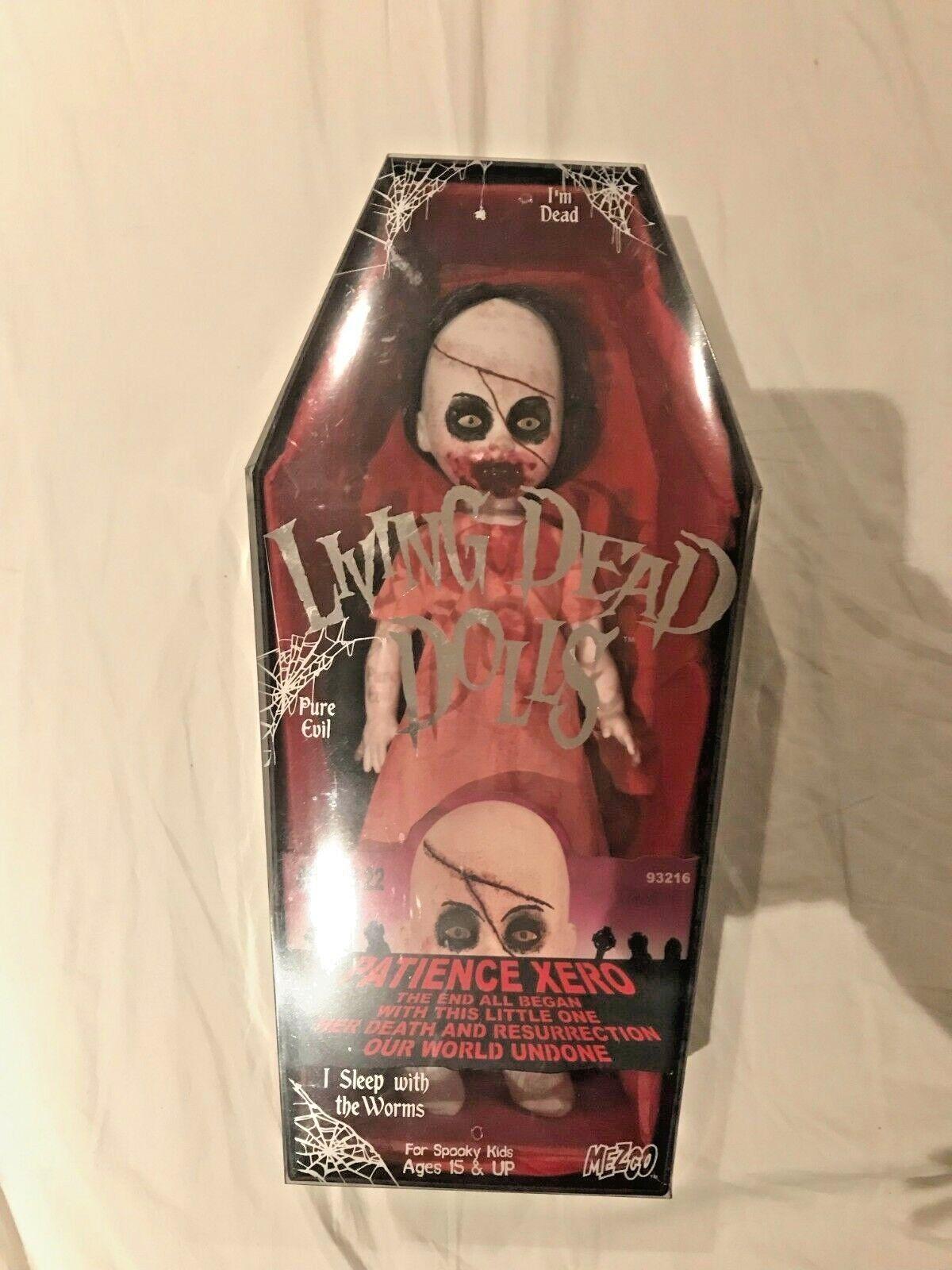 LIVING Dead bambolas Serie  22-PAZIENZA Xero  ULTRA RARE   VARIANTE  SIGILLATO   nuovo stile