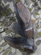 WW2 GERMAN WEHRMACHT LUFTWAFFE ELITE SOLDIERS JACK BOOTS - SALTY!
