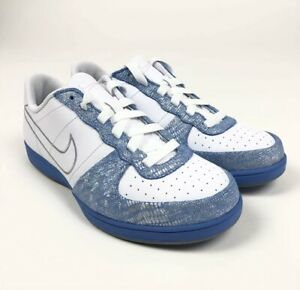 Nike-Legend-S-S-Womens-Metallic-Blue-Silver-Shoes-Size-8-5-Retro-317556-101