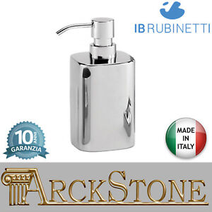Porta sapone dispenser appoggio ABS cromato IB Rubinetti Taaac ...
