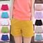 Women-Summer-Casual-Beach-Shorts-Plus-Size-Ladies-Sports-Shorts-Cotton-Hot-Pants thumbnail 1