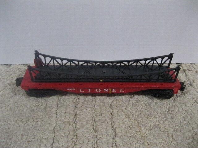 Lionel 6825 Flat Car with Trestle Bridge
