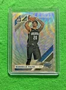 MARKELLE-FULTZ-PRIZM-SILVER-WAVE-CARD-MAGIC-2019-20-DONRUSS-OPTIC-BASKETBALL
