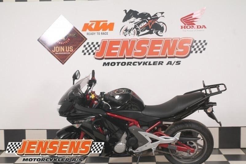 Kawasaki, ER-6f, ccm 649