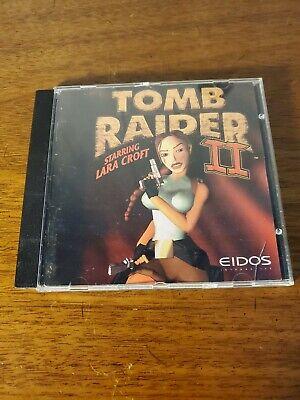 Tomb Raider 2 Starring Lara Croft Cd Rom Pc Game 772040770266