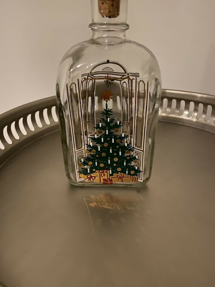 Holmegaard juleflaske