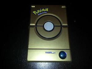 POKEDEX-Pokemon-Deluxe-Edition-GOLD-TIGER-Electronics-2001-FONCTIONNE